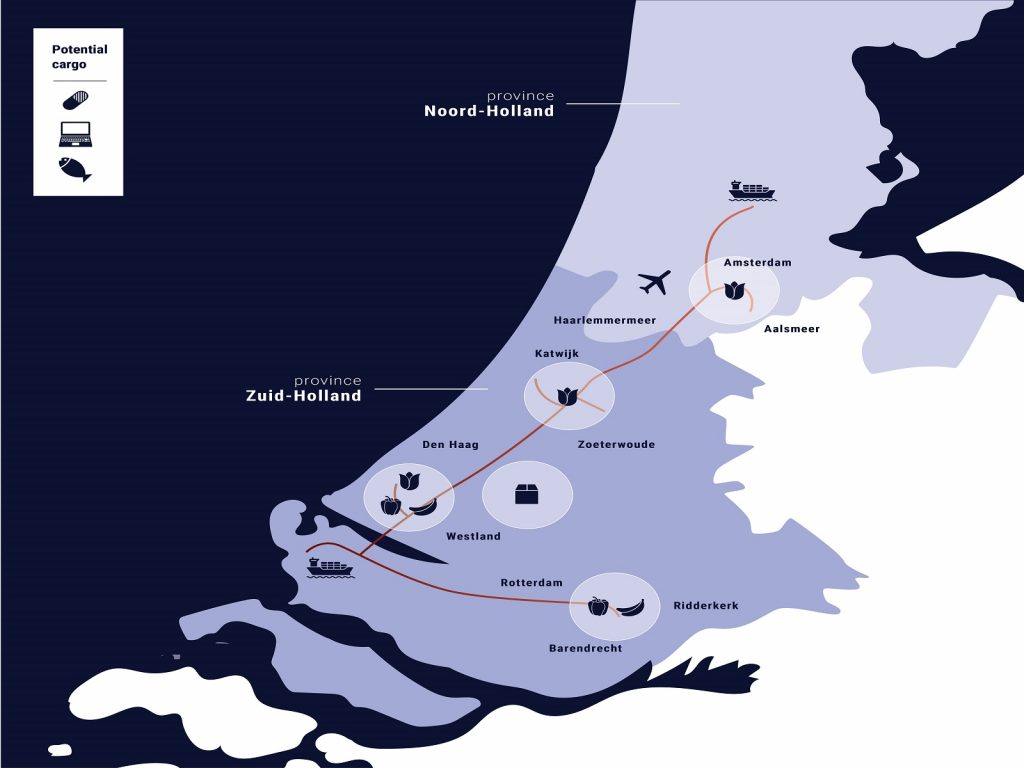 Cargo-route-greenport-duin-en-bollenstreek