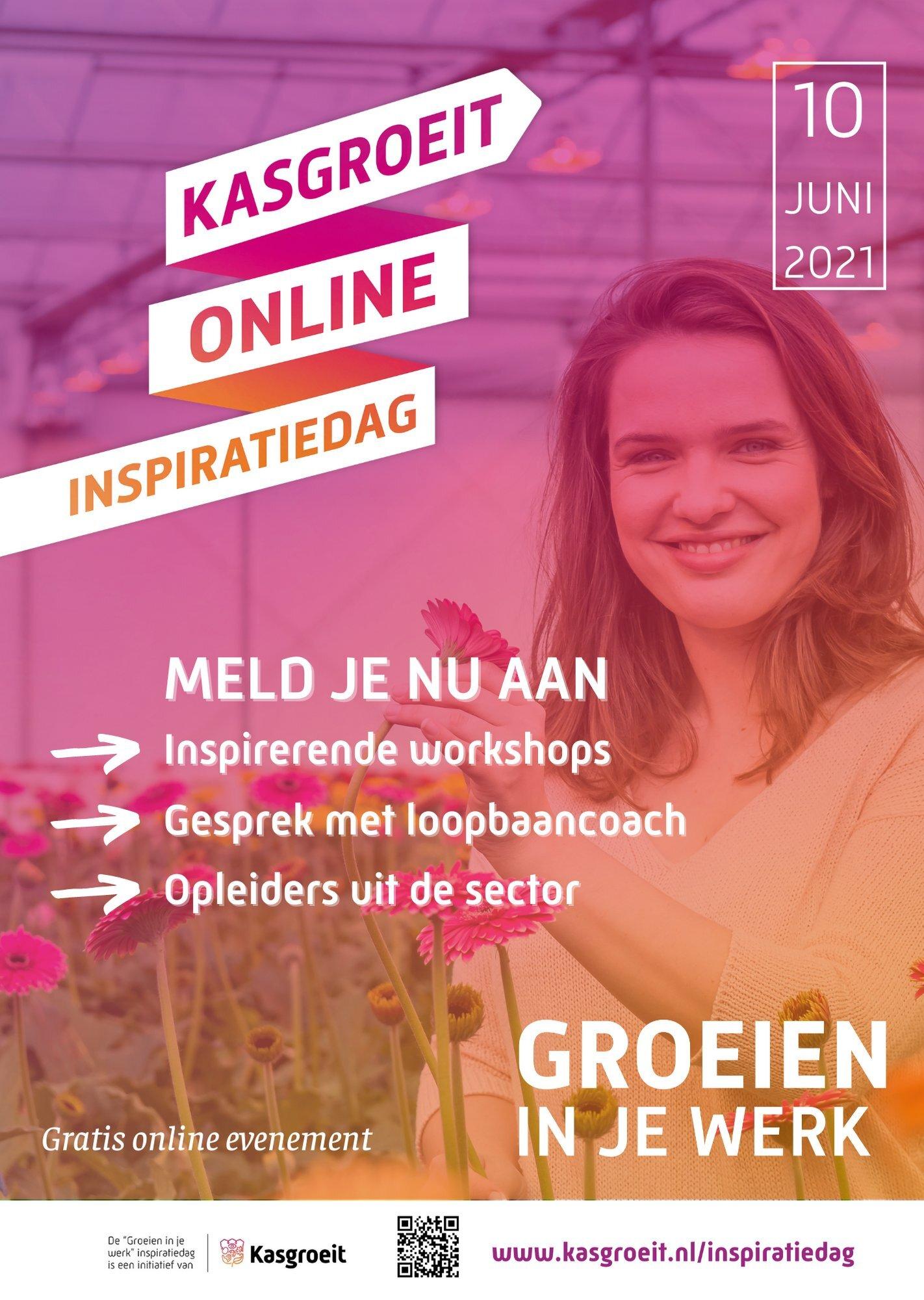Online inspiratiedag 'Groeien in je werk'